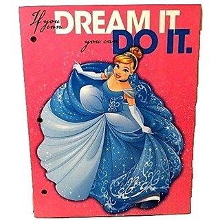Princess Belle Jasmine Sleeping Beauty Aurora Disney Back to School Toddler Pre-school Elementary Girls Folder A