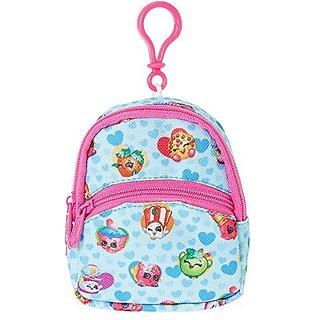 Mini Shopkins Blue Backpack Keyring Clip