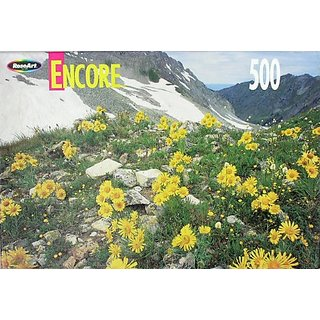 Encore 500 Piece Puzzle Maroon Snowmass Wilderness Colorado #06052