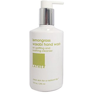 LATHER Lemongrass Wasabi Hand Wash 10oz