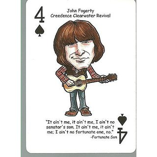 (3) John Fogerty CCR - ODDBALL Playing cards