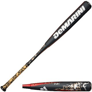 DeMarini Voodoo Paradox Baseball Bat, Carbine-Red, 29-Inch-20-Ounce