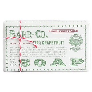 Barr-co. Fir Grapefruit Bar Soap