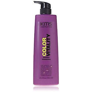 KMS California Color Vitality Shampoo with Pump, 25.3 Ounce