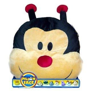 Ladybug Pillow ~ Pillow Face