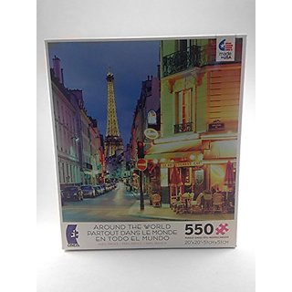 Ceaco Around the World Puzzle Paris, France 550 Pieces