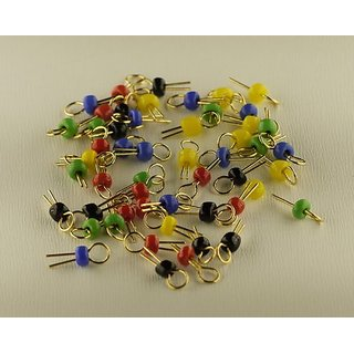 Pack of 50 Test Point Terminals (10 X 5 Colors)