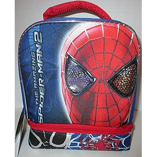 The Amazing Spiderman 2 Dual Insulated Lunch Bag Tote