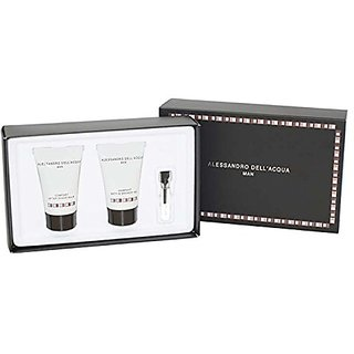 Alessandro Dell Acqua for Men 3 Piece Gift Set