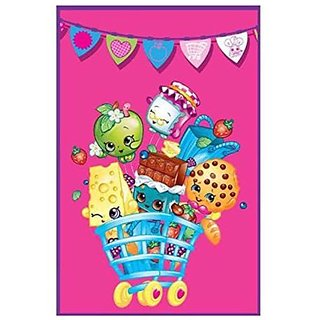 Shopkins Plush Oversize Bed Blanket - Kids by Moose Toys