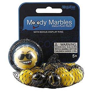 Cool Moody Mibster Emoji Play Pack with Bonus Display Ring
