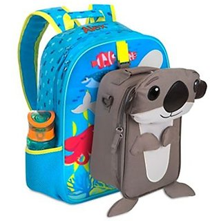 Disneystore Finding Dory Backpack, Lunch Tote & Water Bottle Set