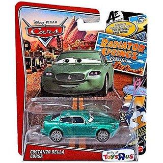 Disney-Pixar Cars, Exclusive Radiator Springs Classic Die-Cast, Costanzo Della Corsa, 1:55 Scale