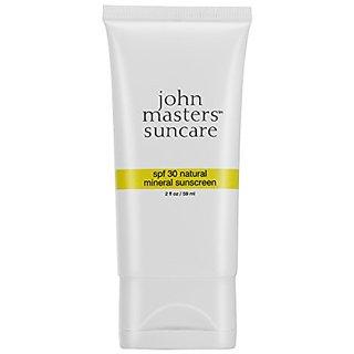 John Masters Natural Mineral Sunscreen SPF 30 (TUBE) 2oz-57g