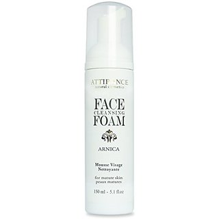 Attirance - Face Cleansing Foam - Arnica - 5.1oz - All Natural with Arnica, Borage, Parsley & Honey Extracts