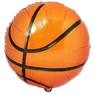 Party Destination 137731 Basketball Foil Balloon