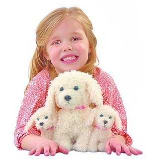 Animagic Bonny and Babies Go Walkies Electronic Dogs by Vivid Imaginations