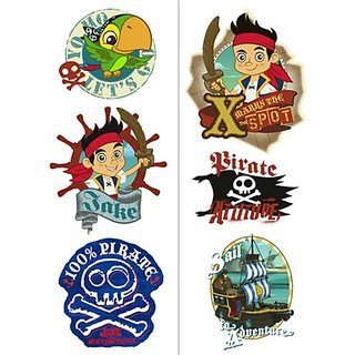 Jake and the Neverland Pirates Tatoos
