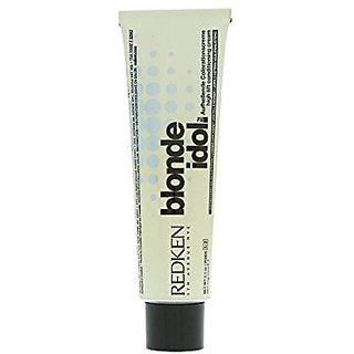 Redken Blonde Idol High Lift Conditioning Cream Base, 5-7B/Blue, 2.1 Ounce