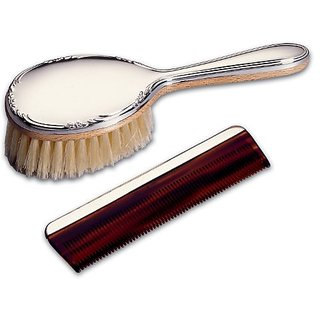 Lunt Sterling Girls Brush and Comb Set