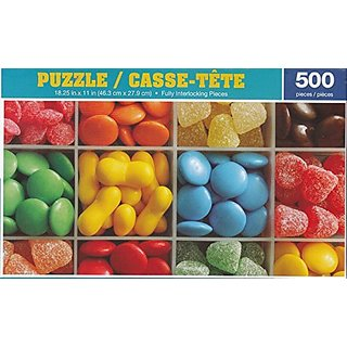 Colorful Candy 500 Piece Puzzle by George