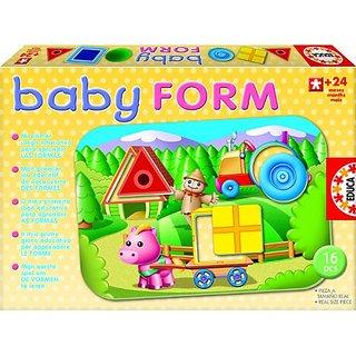 Educa Baby Forms Puzzle Set (16 Piece)