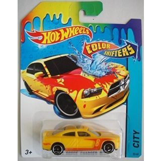 Hot Wheels, Color Shifters, 11 Dodge Charger R-T [Red to Yellow] 25-48