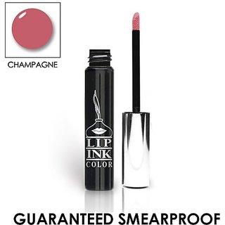 LIP INK Genuine Organic Vegan 100% Smearproof Liquid Lip Stain, Champagne