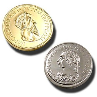 GOLD AND SILVER COIN MAGIC by Magic Makers