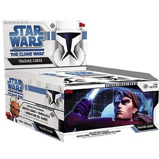 Star Wars: Clone Wars Trading Cards Box of 24