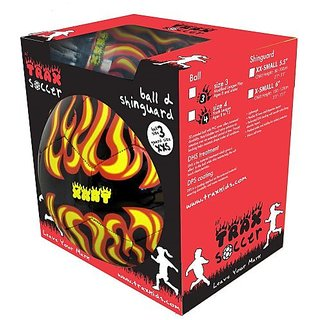 Trax Flames Ball And Guard Combo Pack