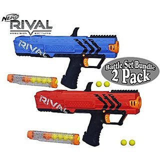 Nerf Rival Apollo XV-700 (Blue) & Apollo XV-700 (Red) Battle Set Bundle - 2 Pack