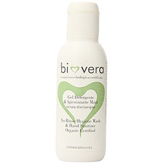 Cosmofarma Bio Vera No-Rinse Hygiene Wash and Hand Sanitizer, 3.3 Ounce