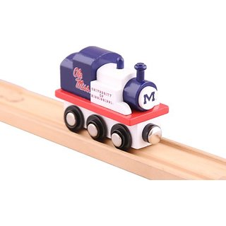 NCAA Mississippi Rebels College Team Train Toy
