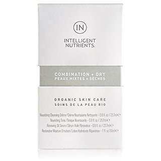 Intelligent Nutrients Combination + Dry Organic Skin Care Travel Set