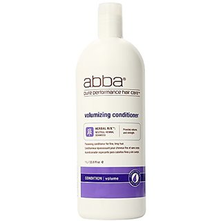 Pure Volumizing Conditioner By ABBA for Unisex, 33.8 Ounce