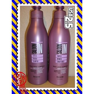 SaloonIN Fortex Women Shampoo for Thinning Hair 10.14 oz (300 ml)