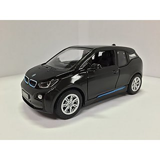 1:32 Scale BMW i3 Electric Car Model (Arravani Grey w-BMW i Frozen Blue accent)