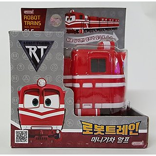 [Robot Train] Korean TV Animation Transformer Mini Robot Characters Toy For Kids Child