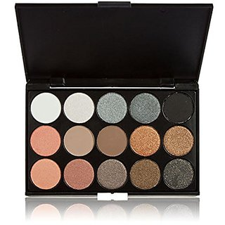 Goege Natural Look 15 Color Shimmer Eyeshadow Palette
