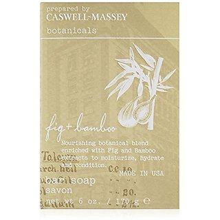 Caswell-Massey Fig and Bamboo Bar Soap, 6 Ounce