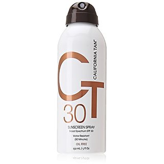 California Tan Continuous Spray, SPF 30, 5 Ounce