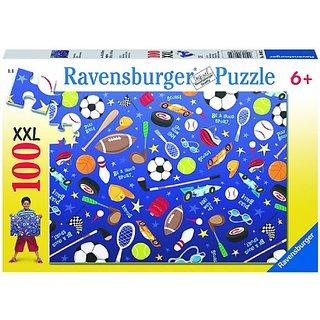 Sports Galore 100 Piece Puzzle