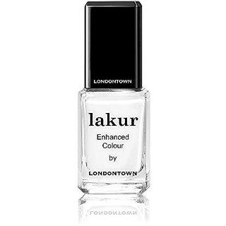 LONDONTOWN Lakur Nail Polish, Duchess White, 0.4 fl. oz.
