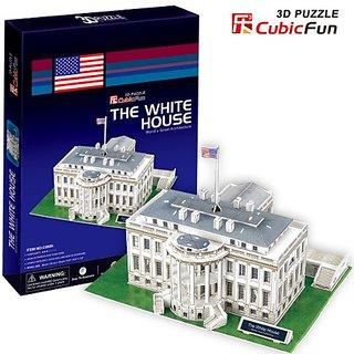 Cubic Fun C060H White House 3d Puzzle