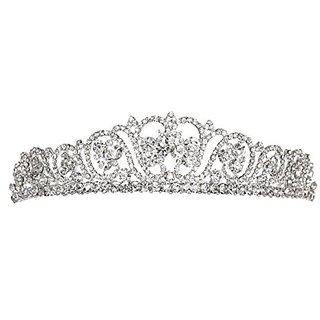 Bridal Rhinestones Crystal Prom Wedding Hair Comb Tiara 81066