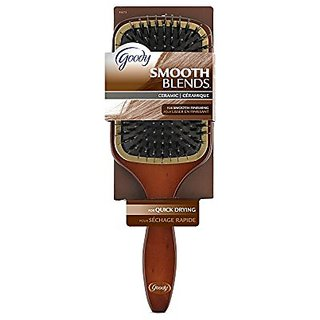 Goody Styling Essentials Smooth Blends Boar Ceramic Hair Brush, Paddle