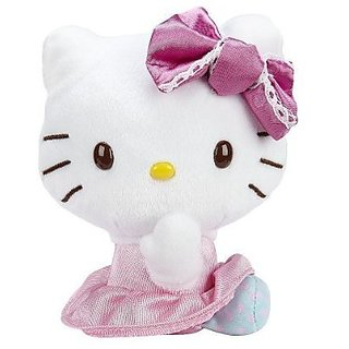 Hello Kitty 6 Inch Mini Plush Doll- Sweet Polka Dot