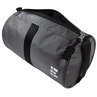 Mens Toiletry Travel Bag & Dopp Kit, Gray