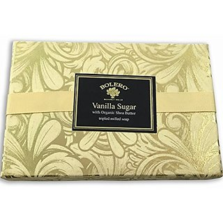 Bolero Luxury Soap Gift Set Vanilla Sugar 3x6 ounce